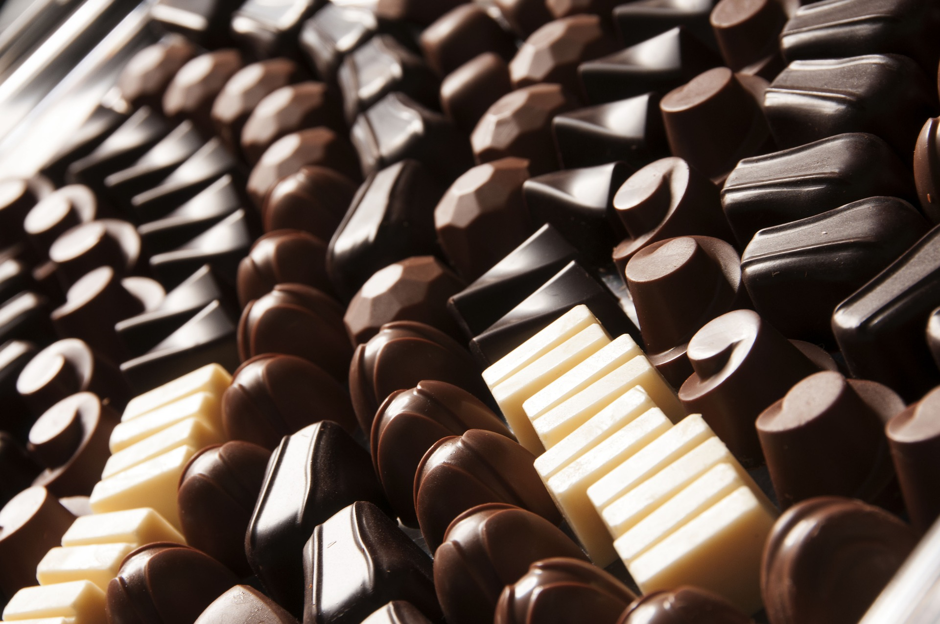 types of chocolates