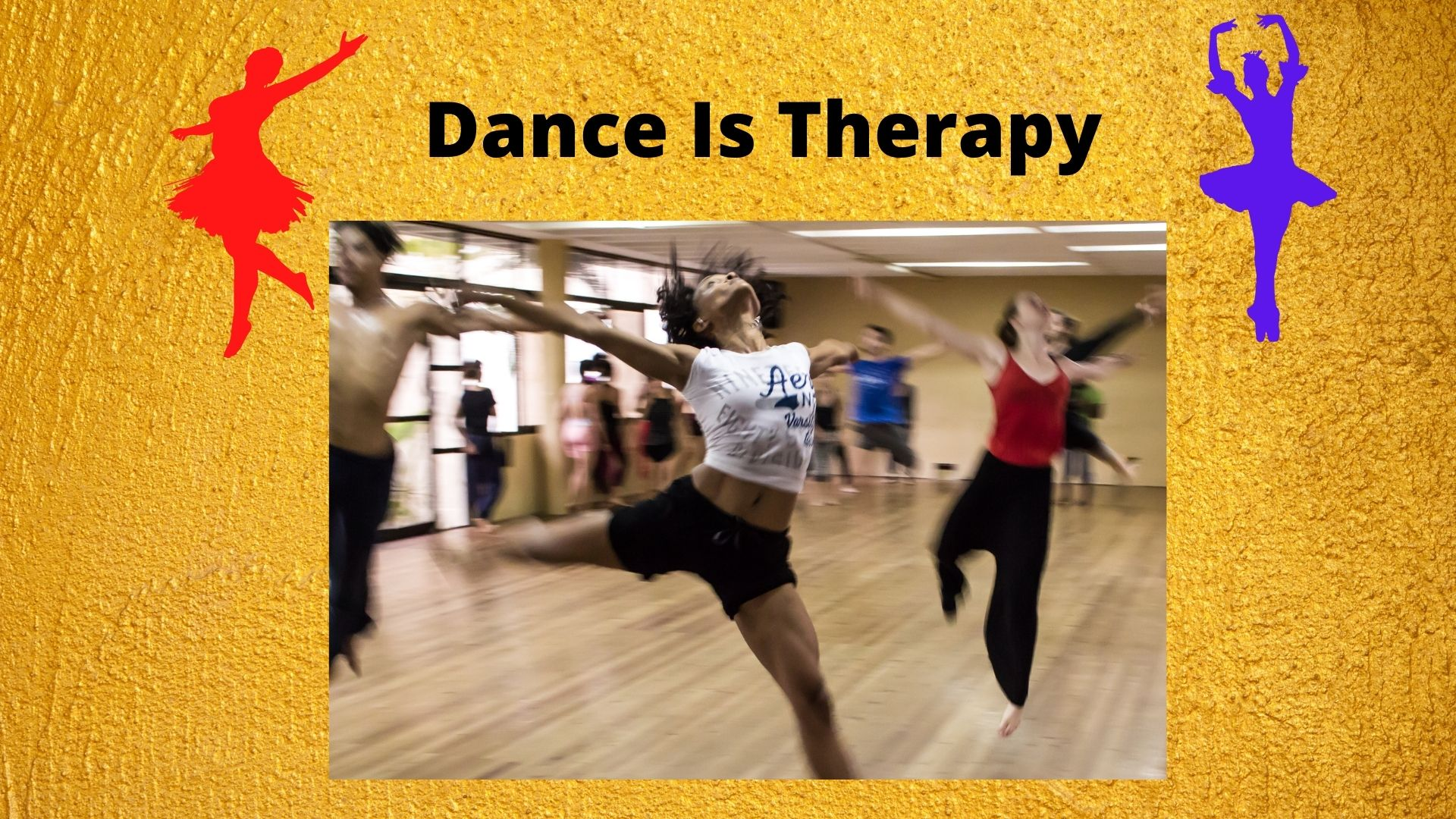 'Dance is therapy, is it really therapeutic?'